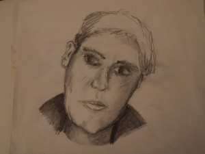 Portraitzeichnung, Bleistift